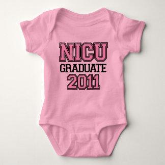 NICU Graduate Girl 2011 Baby Bodysuit