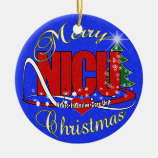 NICU Neuro-Intensive Care Unit ORNAMENT CHRISTMAS