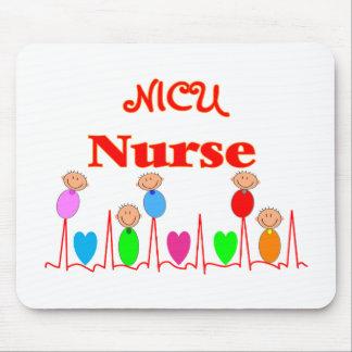 NICU Nurse--Adorable Baby Graphics Mouse Pad
