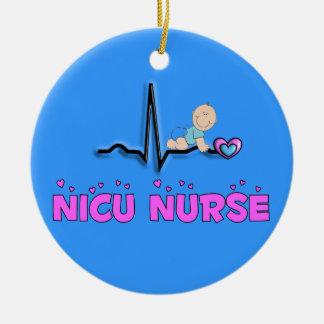 NICU Nurse Adorable Christmas Ornament
