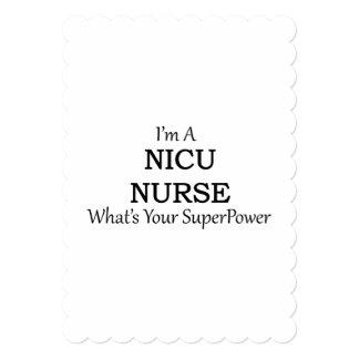 NICU NURSE CARD
