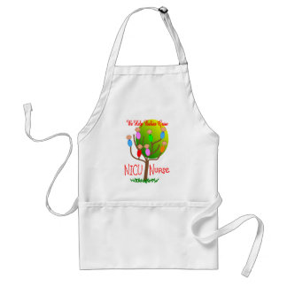 NICU Nurse Gifts, Adorable babies in a tree Adult Apron