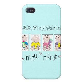 """NICU NURSE Gifts """"Babies Are My Business"""" iPhone 4/4S Cases"""