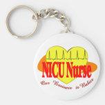 NICU Nurse Gifts Keychains