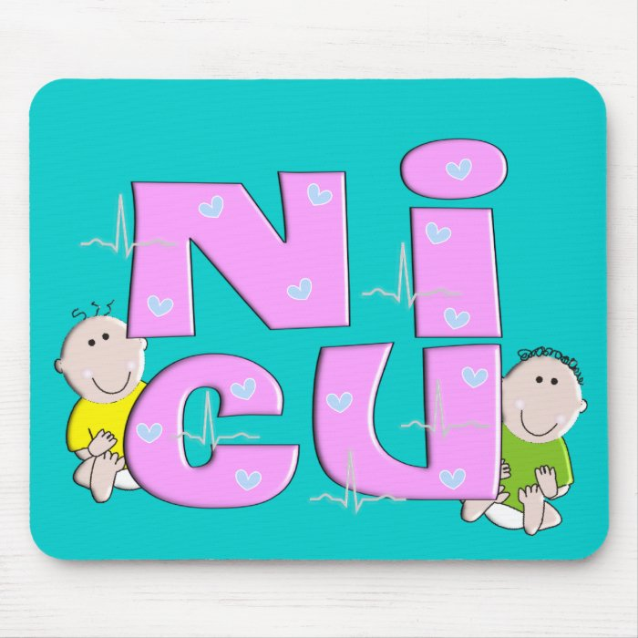 NICU Nurse Gifts Mouse Pad