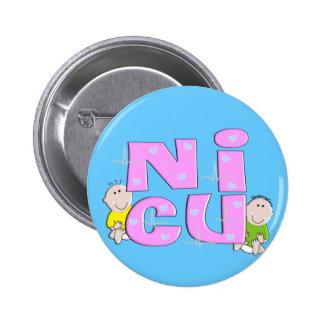 NICU Nurse Gifts Pinback Button