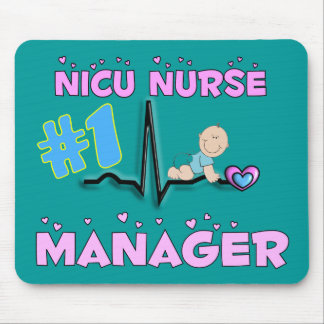 NICU Nurse Manager Gifts Mouse Pad