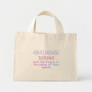 NICU Nurse Mini Tote Bag