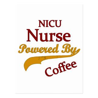 Nicu Nurse Powered By Coffee Postcards