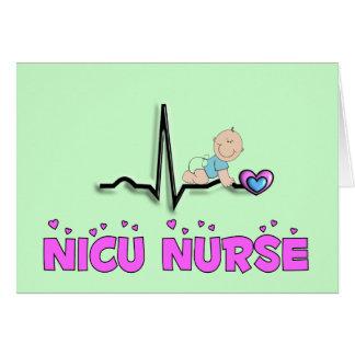 NICU Nurse QRS Design Card
