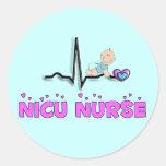 NICU Nurse QRS Design Sticker