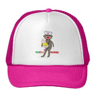 NICU Nurse Sock Monkey Gifts Trucker Hat