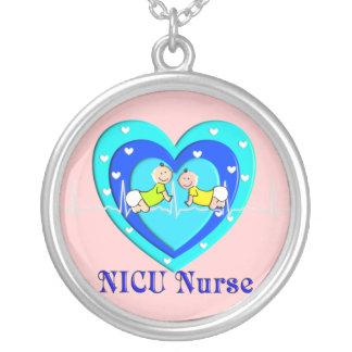 NICU Nurse Sterling Silver Necklace