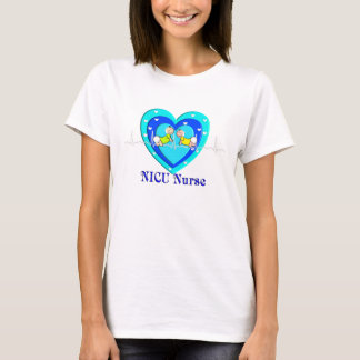 NICU Nurse T-Shirt Adorable Baby and Heart