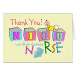 "NICU Nurse ""Thank You"" Card"