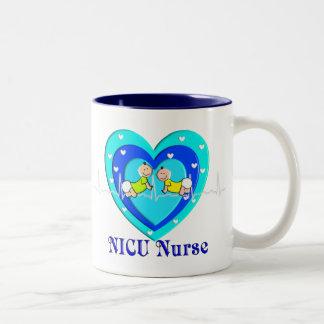 NICUNurse Coffee Mug Heart Baby Design
