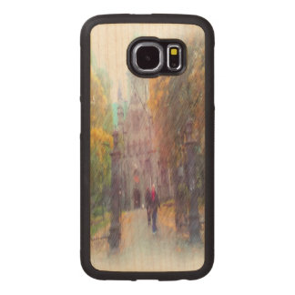 Nidaros photo paint wood phone case