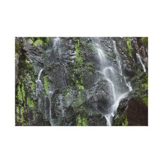 Nideck cascade canvas print