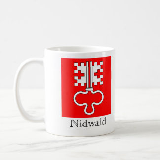 Nidwald, banderas de Suisse Drapeau Taza