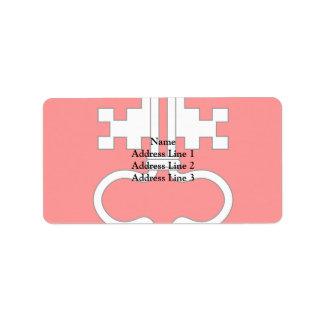 Nidwalden, Switzerland Address Label
