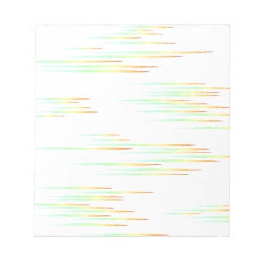 niebla bloc de papel