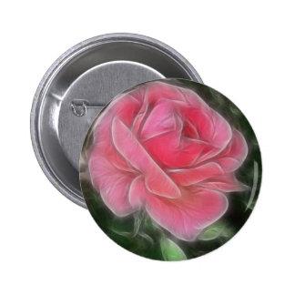 Niebla color de rosa rosada 2 pins