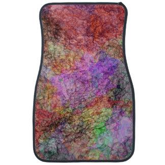 Niebla colorida del remolino del color de agua alfombrilla de coche