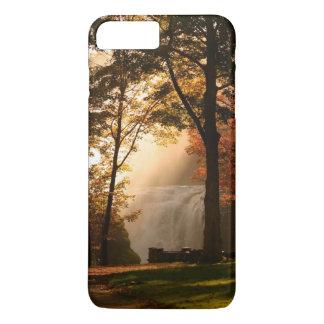 Niebla de la cascada de los otoños funda iPhone 7 plus