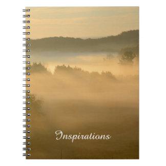 Niebla de la madrugada libreta
