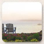 Niebla de la mañana de Maine Posavasos De Bebida