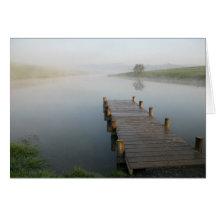 niebla de la mañana felicitación