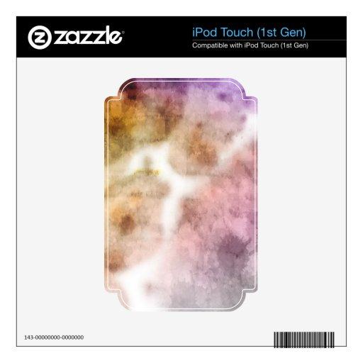 """""""Niebla de la mañana """" iPod Touch Calcomanías"""