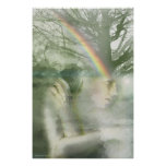 Niebla de la mañana por Gregory Gallo Poster