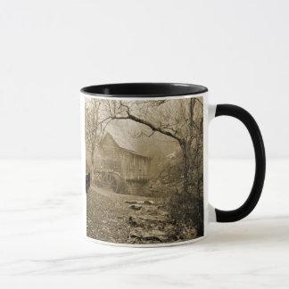 Niebla de la mañana taza