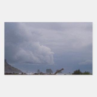 Niebla de LaPush Pegatina Rectangular