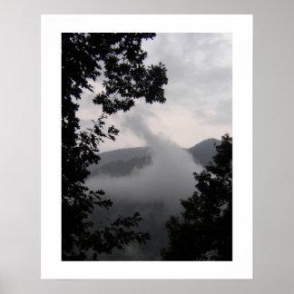 Niebla de levantamiento posters