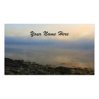 Niebla de levantamiento tarjetas de visita