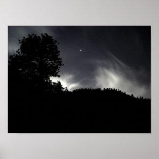 Niebla de medianoche póster