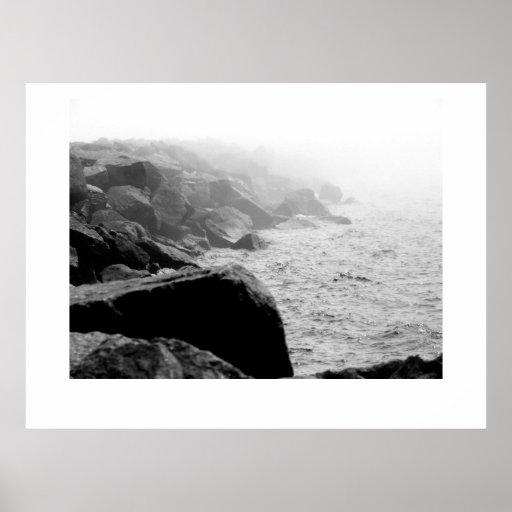 Niebla del balanceo póster