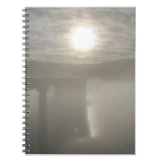 Niebla del invierno libreta