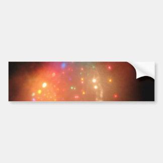 Niebla del navidad etiqueta de parachoque