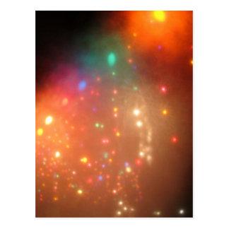 Niebla del navidad tarjetas postales