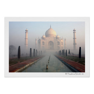 Niebla del Taj Mahal Posters