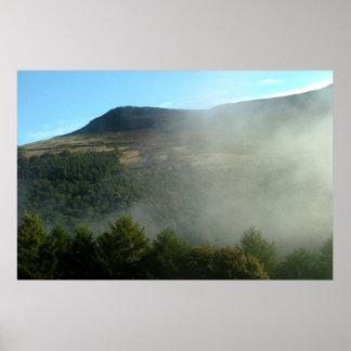 Niebla en el distrito máximo posters