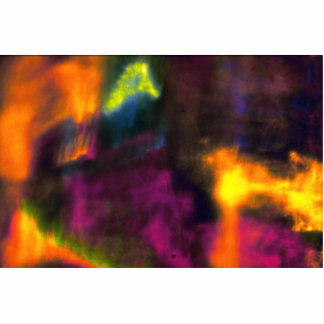 Niebla multicolora escultura fotográfica