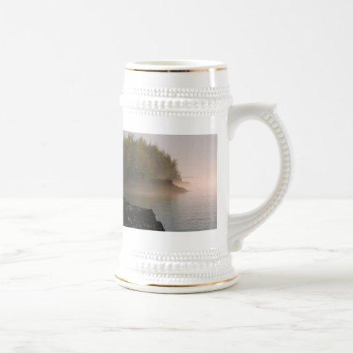 niebla taza de café
