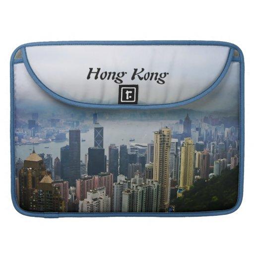 Nieblas del puerto de Hong Kong Funda Para Macbooks
