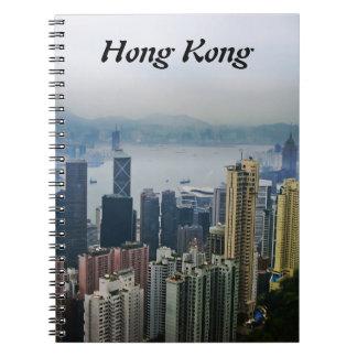 Nieblas del puerto de Hong Kong Libros De Apuntes