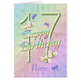 happy 17th birthday cards   greeting amp photo cards zazzle