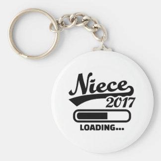 Niece 2017 keychain